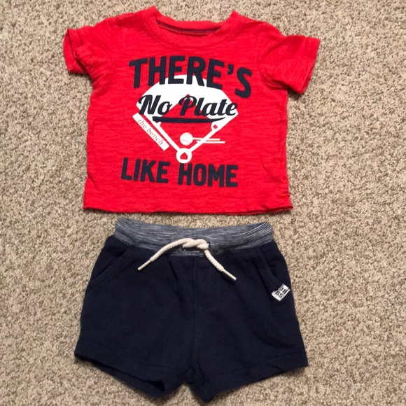 4b2eddd30 Carter's Matching Sets | Euc Carters Infant Boy Tee Shorts Set ...
